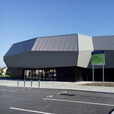 Construction d'un complexe sportif