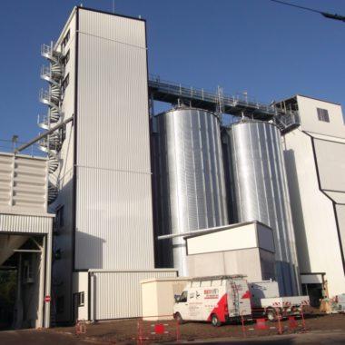 Construction de silo